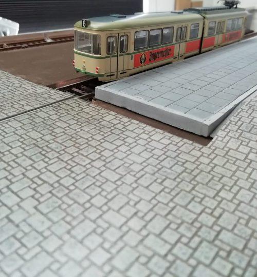 Tramhalte vanaf station plein